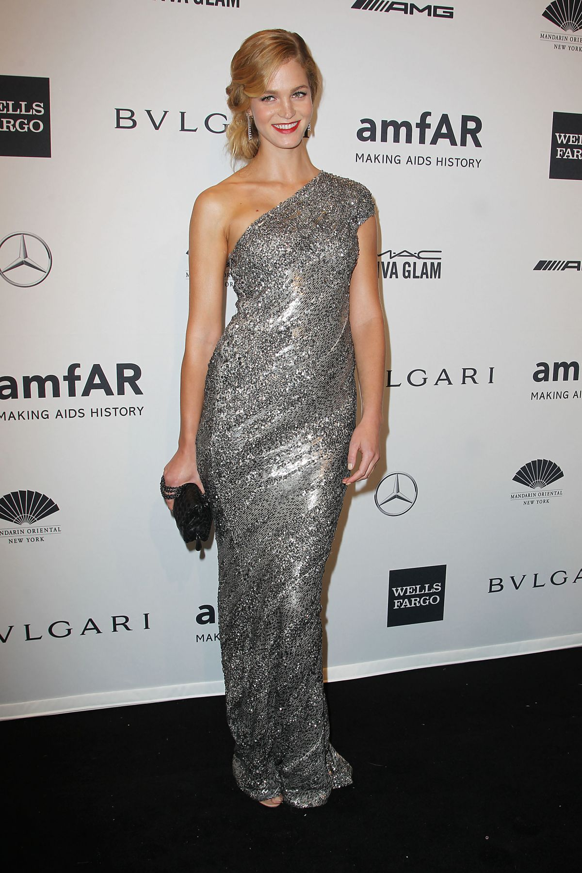 ERIN HEATHERTON at 2014 AMFAR Gala in New York