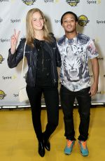 ERIN HEATHERTON at NBA All Star 2014 Celebrity Game in New Orleans