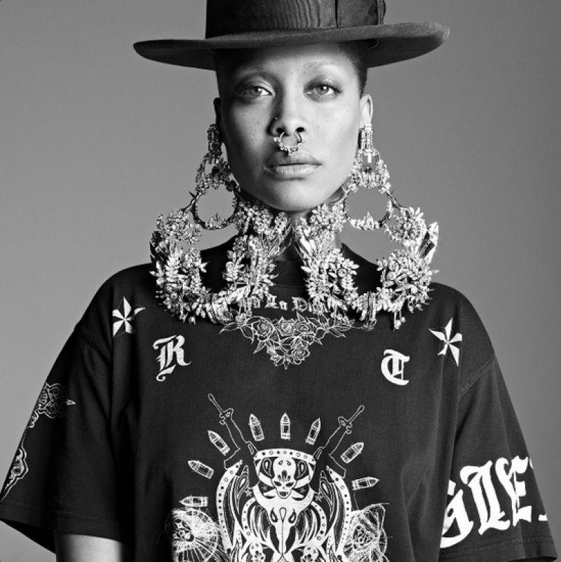 ERYKAH BADU - Givenchy 2014 Campaign