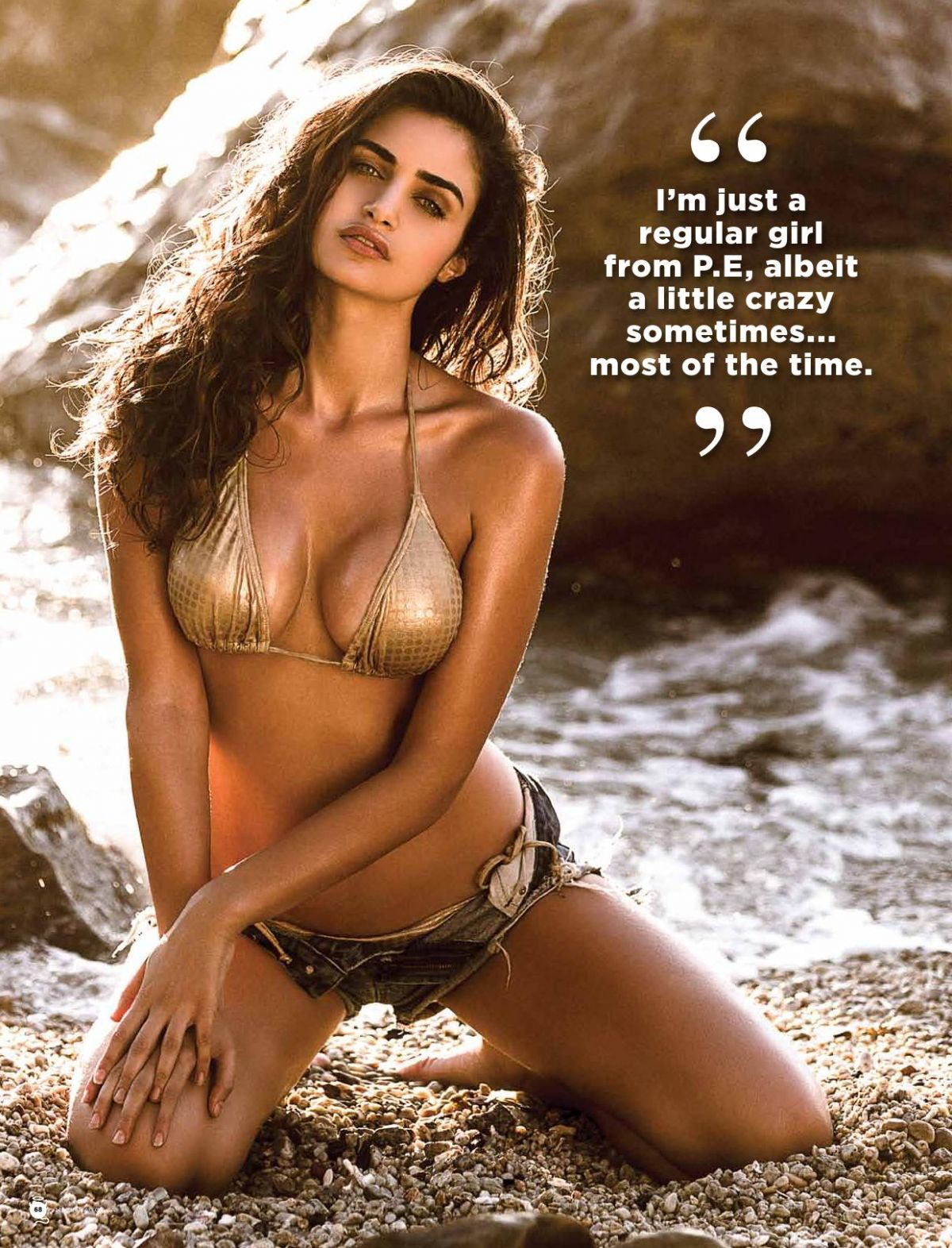 GABRIELLA DEMETRIADES in Maxim Magazine, South Africa March 2014 Issue