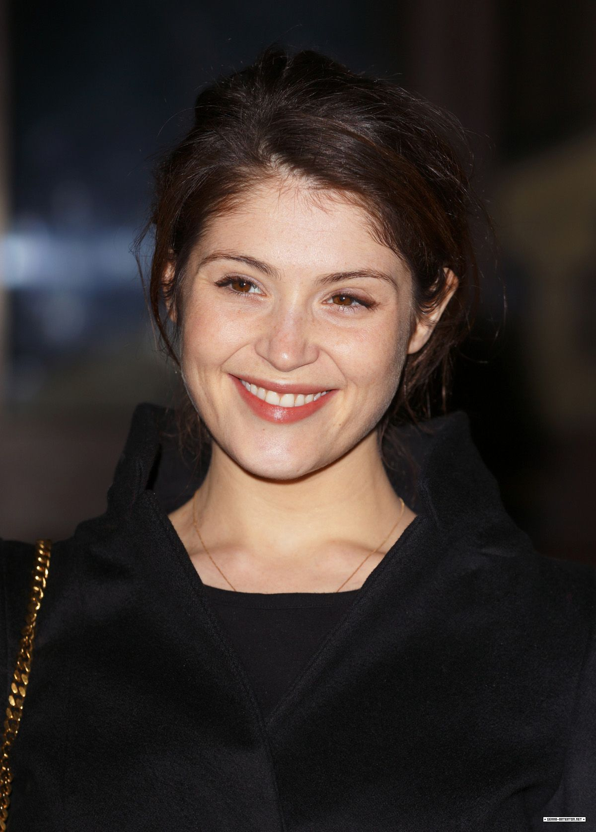 GEMMA ARTERTON at Dramatic Arts Reception at Buckingham Palace