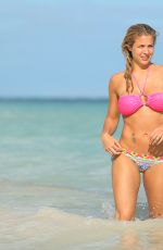 GEMMA ATKINSON in Bikini at a Beach in Dominican Republic