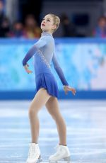 GRACIE GOLDat Team Ladies Free Skating at 2014 Winter Olympics in Sochi