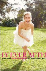 HAYDEN PANNETIERE in Brides Magazine, April/May 2014 Issue