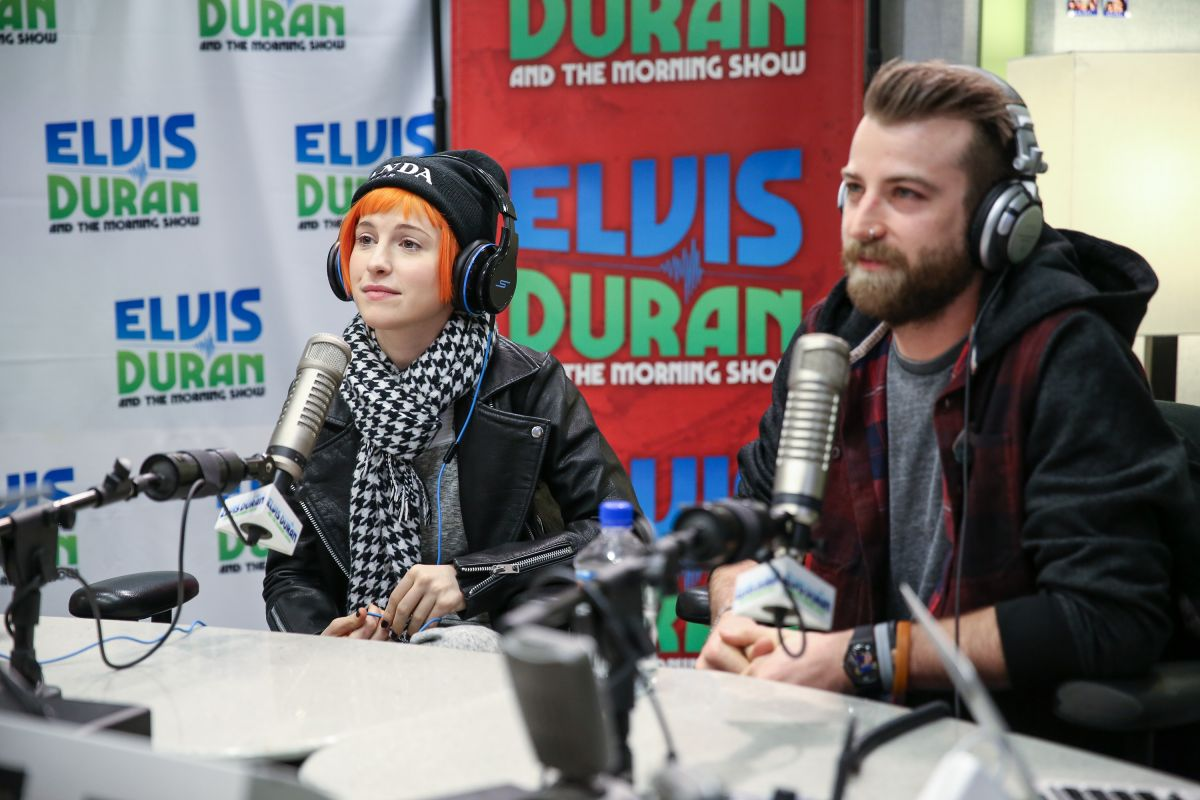 HAYLEY WILLIAMS at Elvis Duran z100 Morning Show in New York ...
