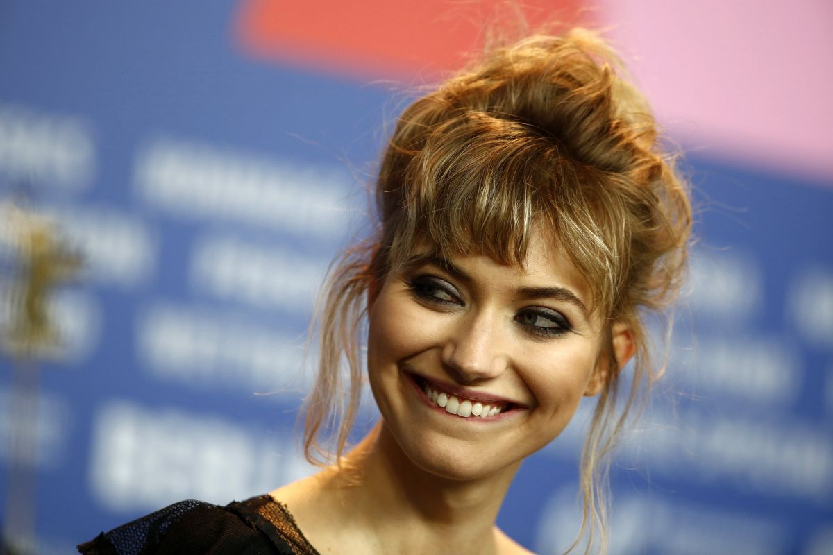 IMOGEN POOTS at A Long Way Down Photocall at 64th International Film Festival in Berlin