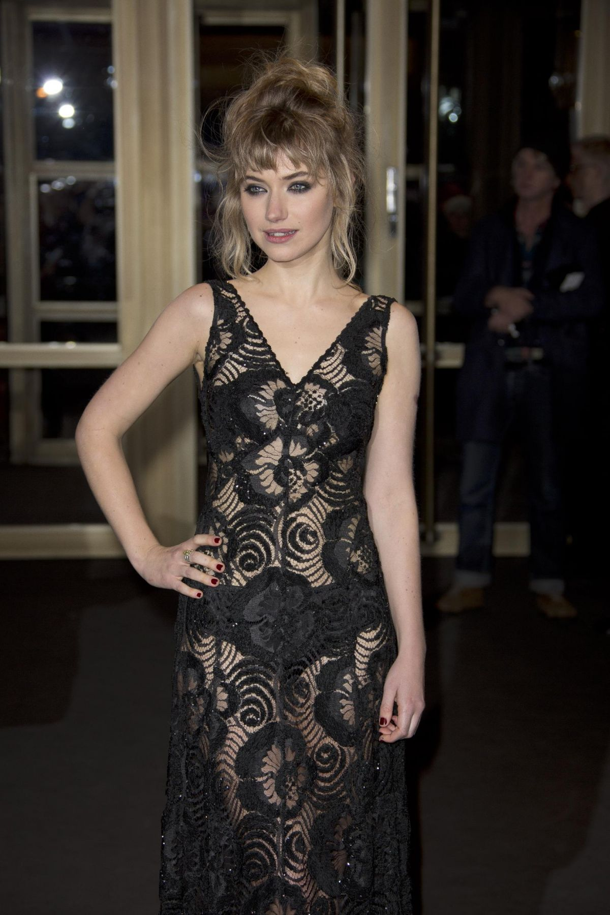 IMOGEN POOTS at A Long Way Down Premiere at 64th International Film Festival in Berlin