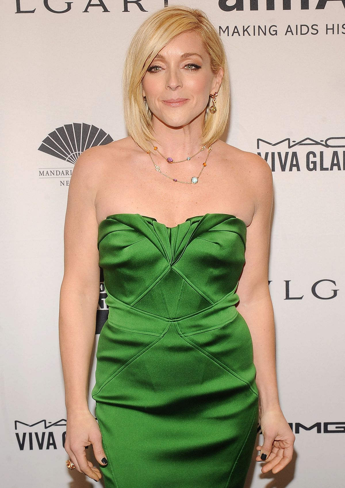 JANE KRAKOWSKI at 2014 AMFAR Gala in New York