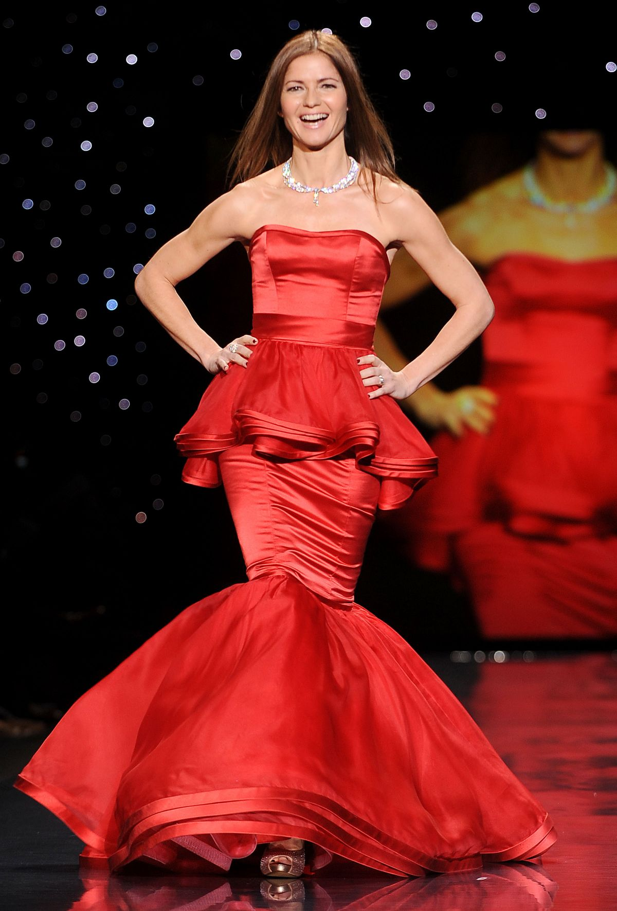Jill Hennessy At Go Red For Women The Heart Truth Fashion