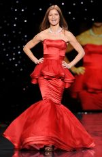 JILL HENNESSY at Go Red for Women, The Heart Truth Fashion Show in New York