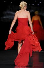 JILL MARTIN at Go Red for Women, The Heart Truth Fashion Show in New York