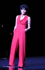 JOAN JETT at Go Red for Women, The Heart Truth Fashion Show in New York