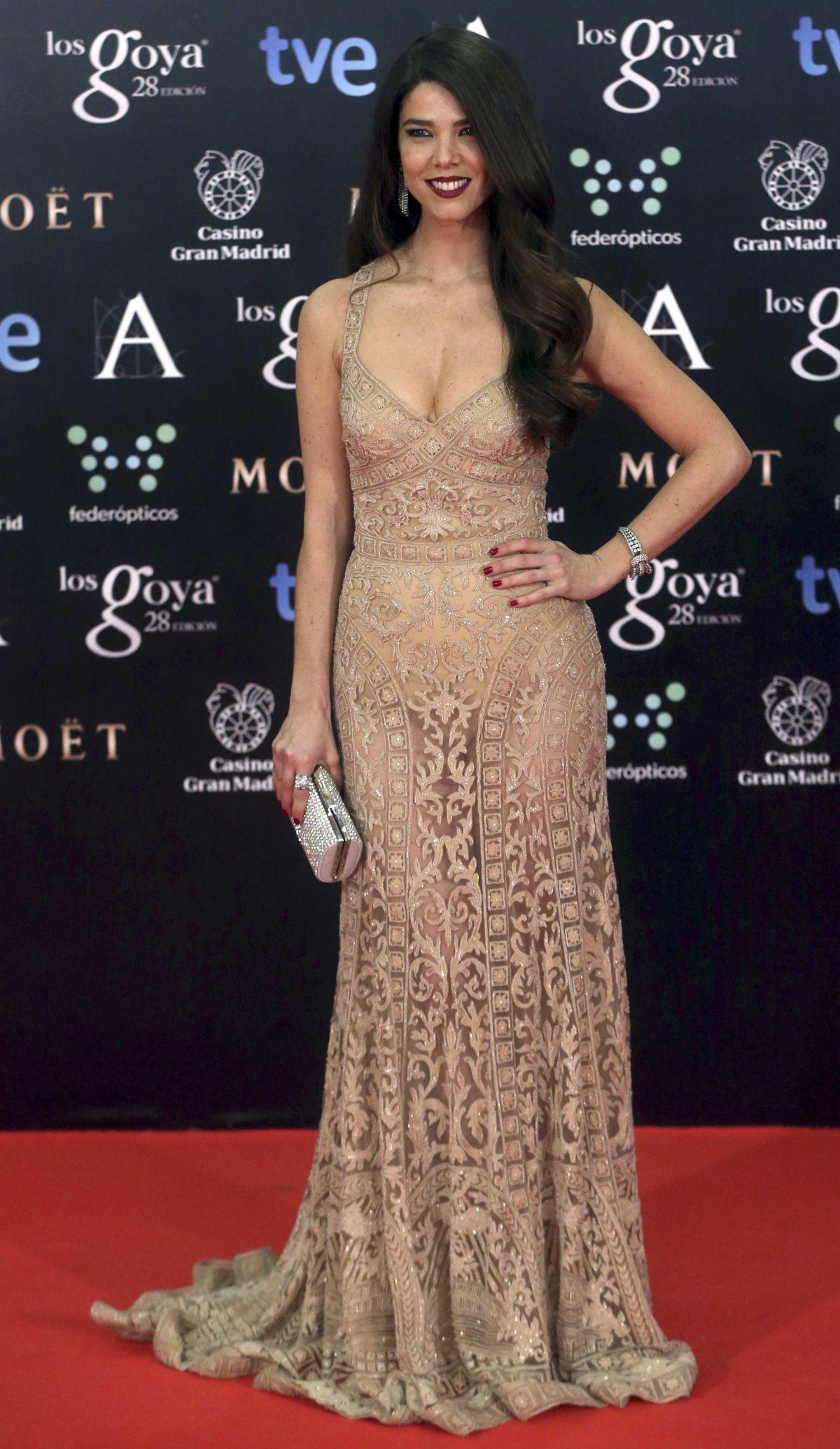 JUANA ACOSTA at 2014 Goya Film Awards in Madrid
