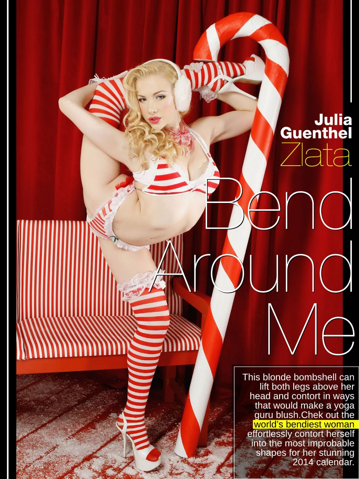 JULIA GUENTHEL ZLATA in Manic Magazine, February 2014 Issue