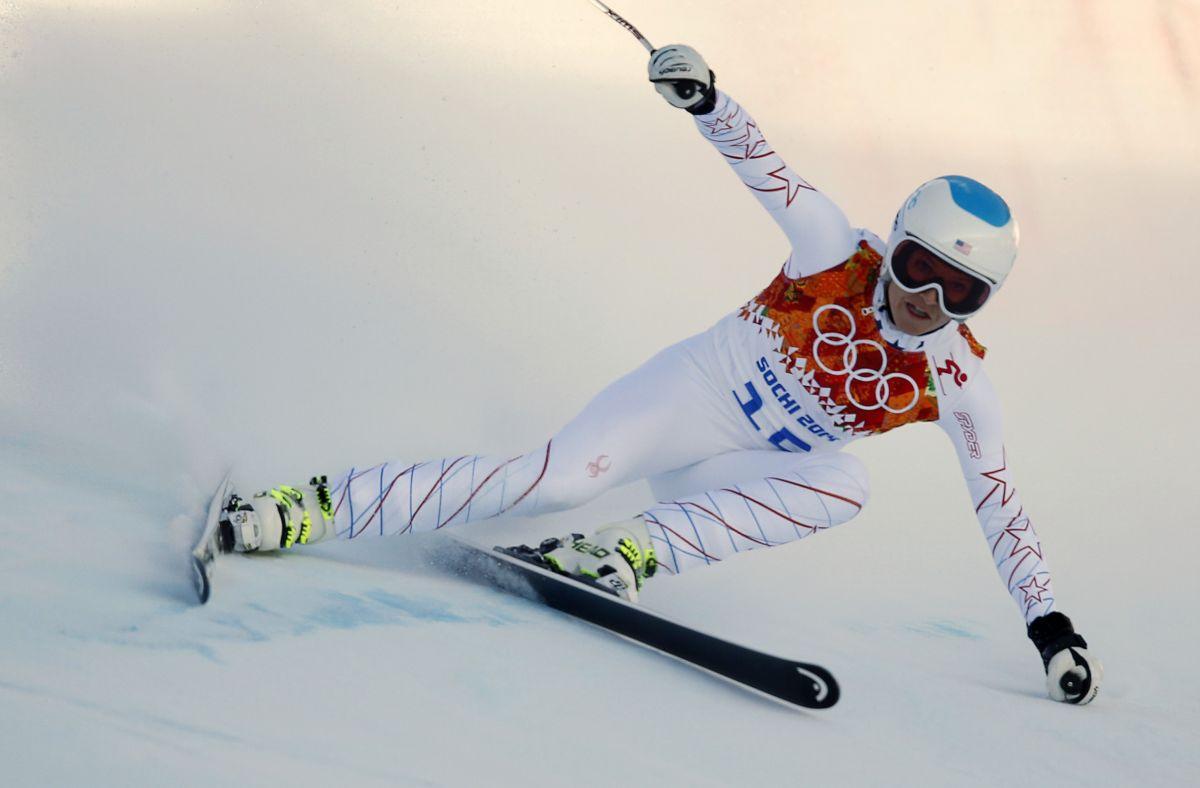 JULIA MANCUSO at 2014 Winter Olympics in Sochi 1202