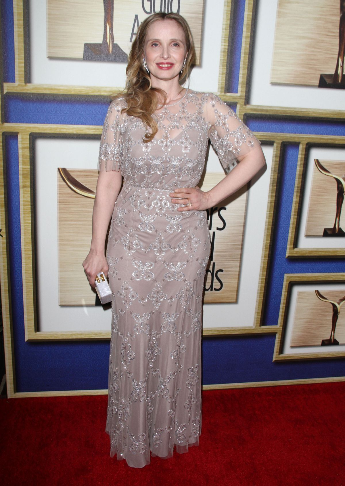JULIE DELPY at 2014 Writers Guild Awards in New York