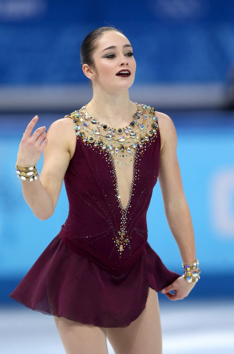 KAETLYN OSMOND at Team Ladies Free Skating at 2014 Winter Olympics in Sochi