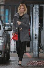 KATE MARA Arrives at a Studio in London