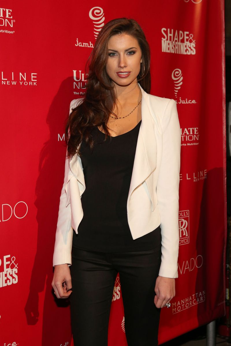 KATHERINE WEBB at GQ 2014 Super Bowl Party in New York