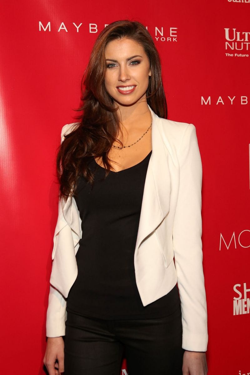 KATHERINE WEBB at Shape and Men