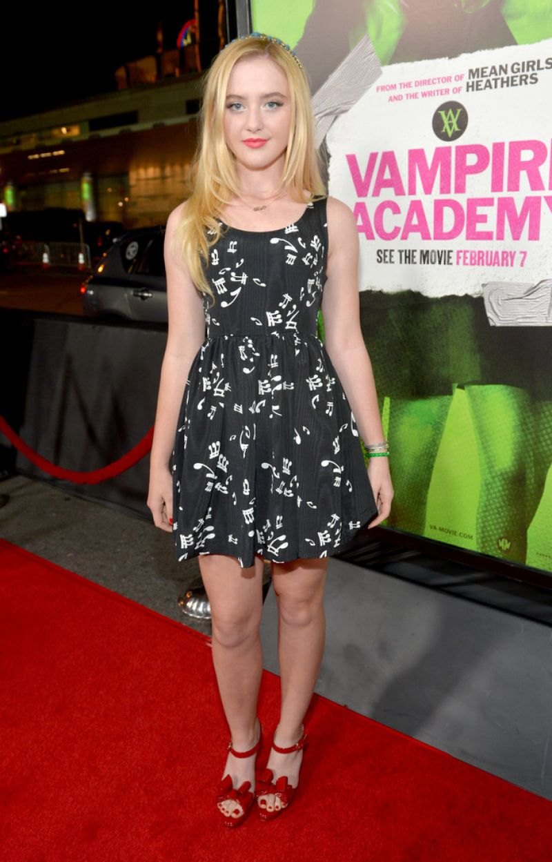 KATHRYN NEWTON at Vampire Academy Premiere in Los Angeles - HawtCelebs ...