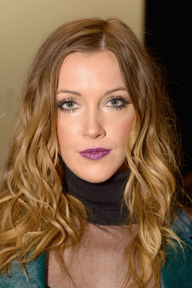 KATIE CASSIDY at Katya Zol Fall/Winter 2014 Fashion Show in New York