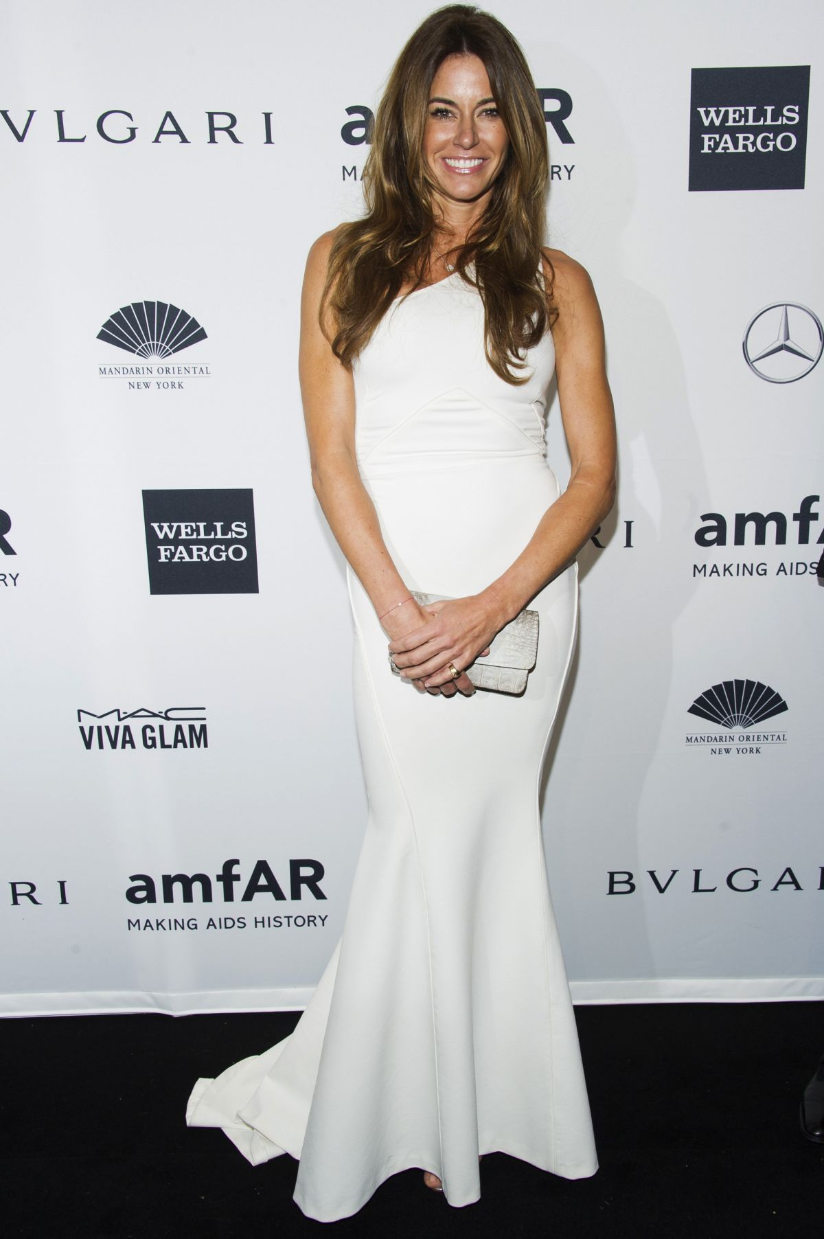 KELLY BENSIMON at 2014 AMFAR Gala in New York