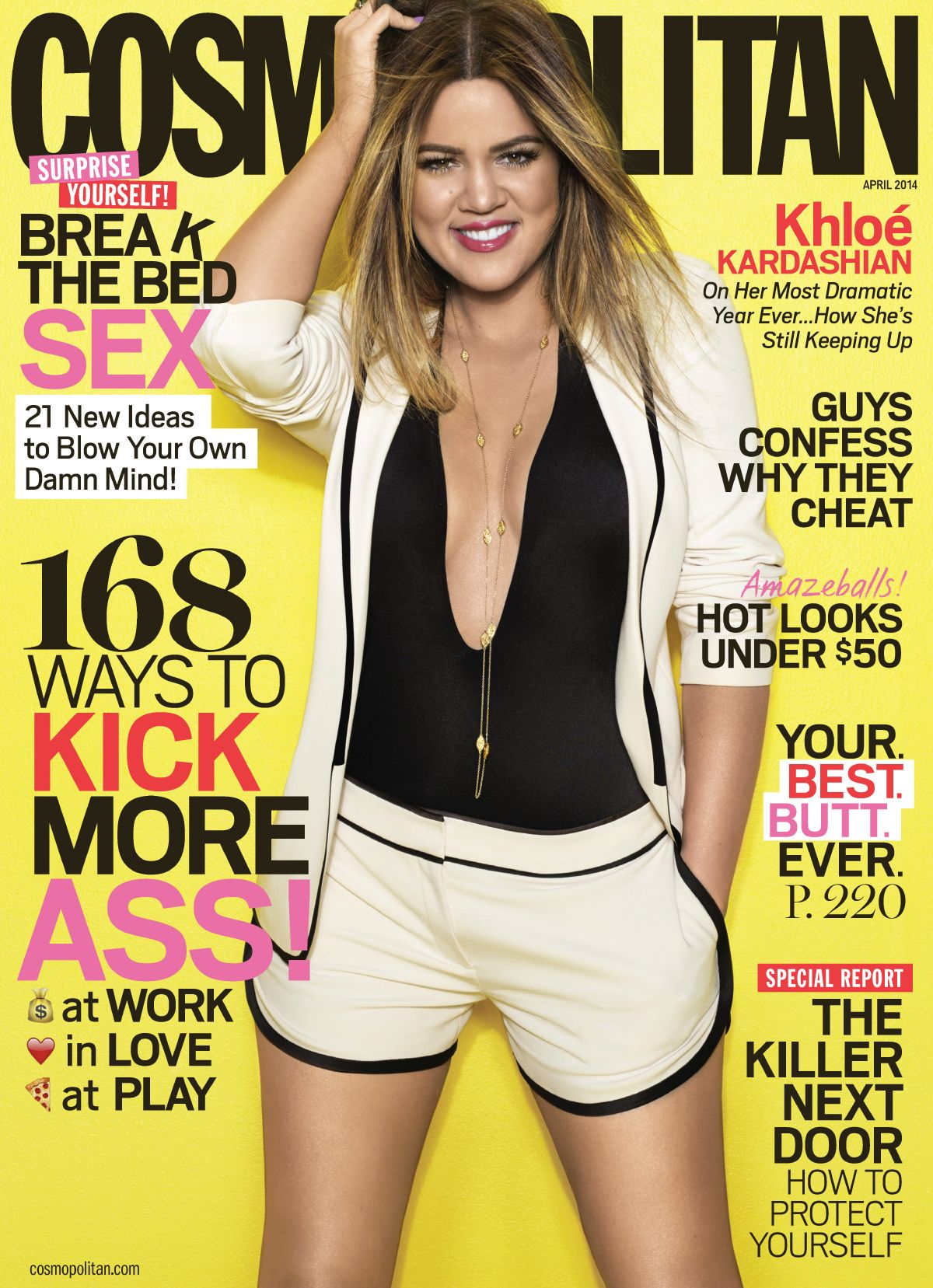 Cosmopolitan Magazine April 2012 Megan Fox on the cover
