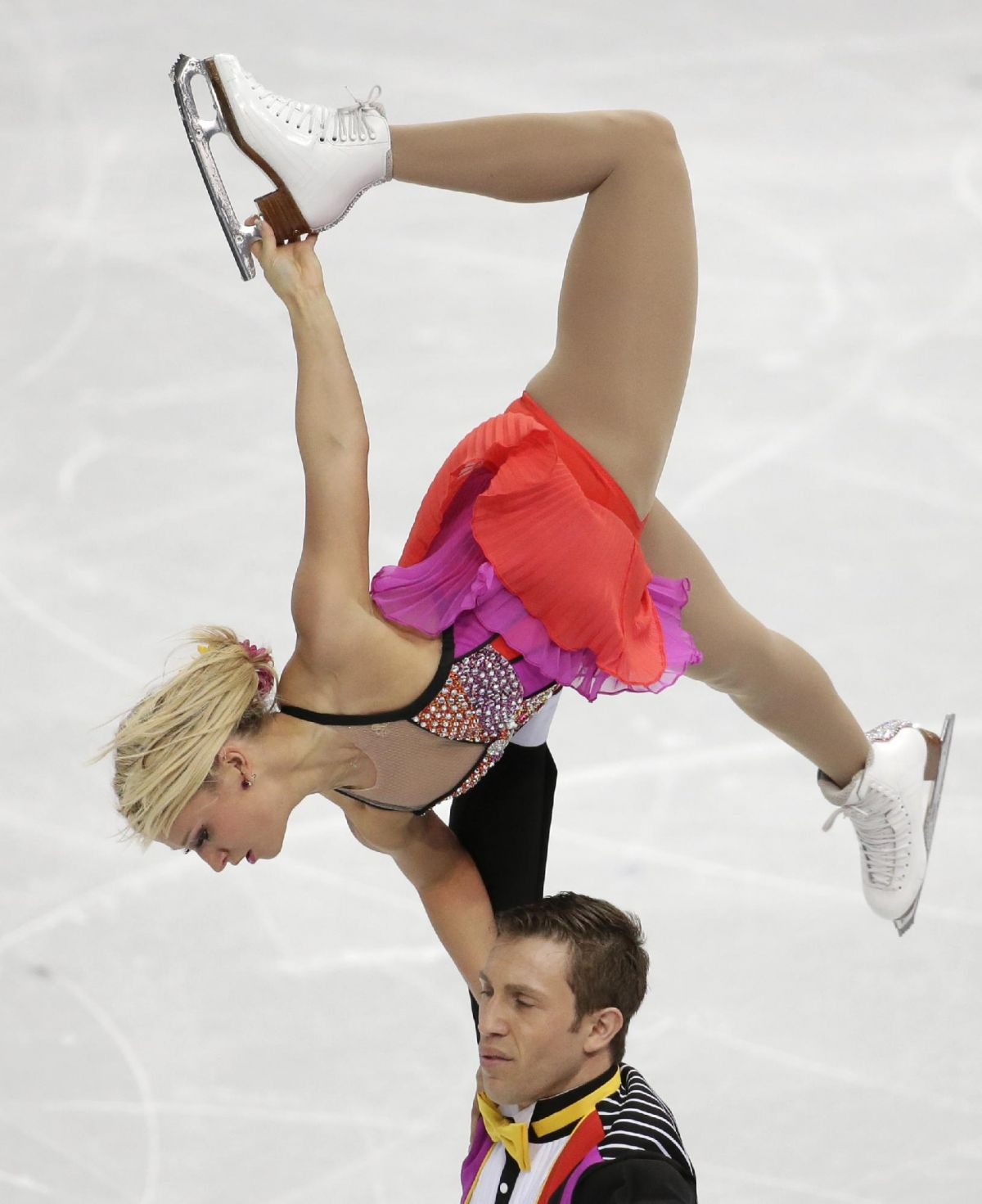 KIRSTEN MOORE-TOWERS and Dylan Moscovitch at 2014 Winter Olympics in Sochi