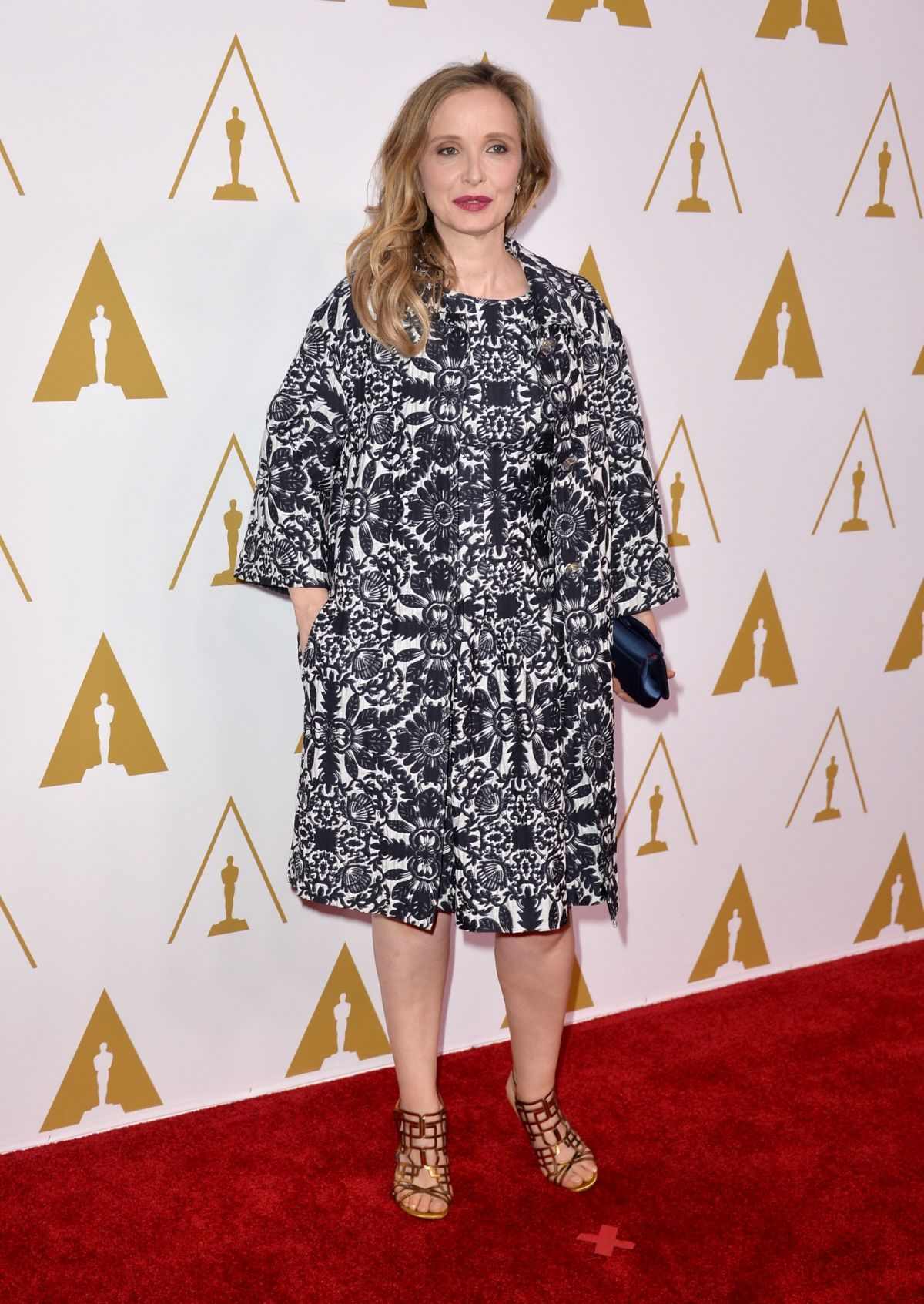 KULI DELPY at 2014 Academy Awards Nominees Luncheon in Beverly Hills