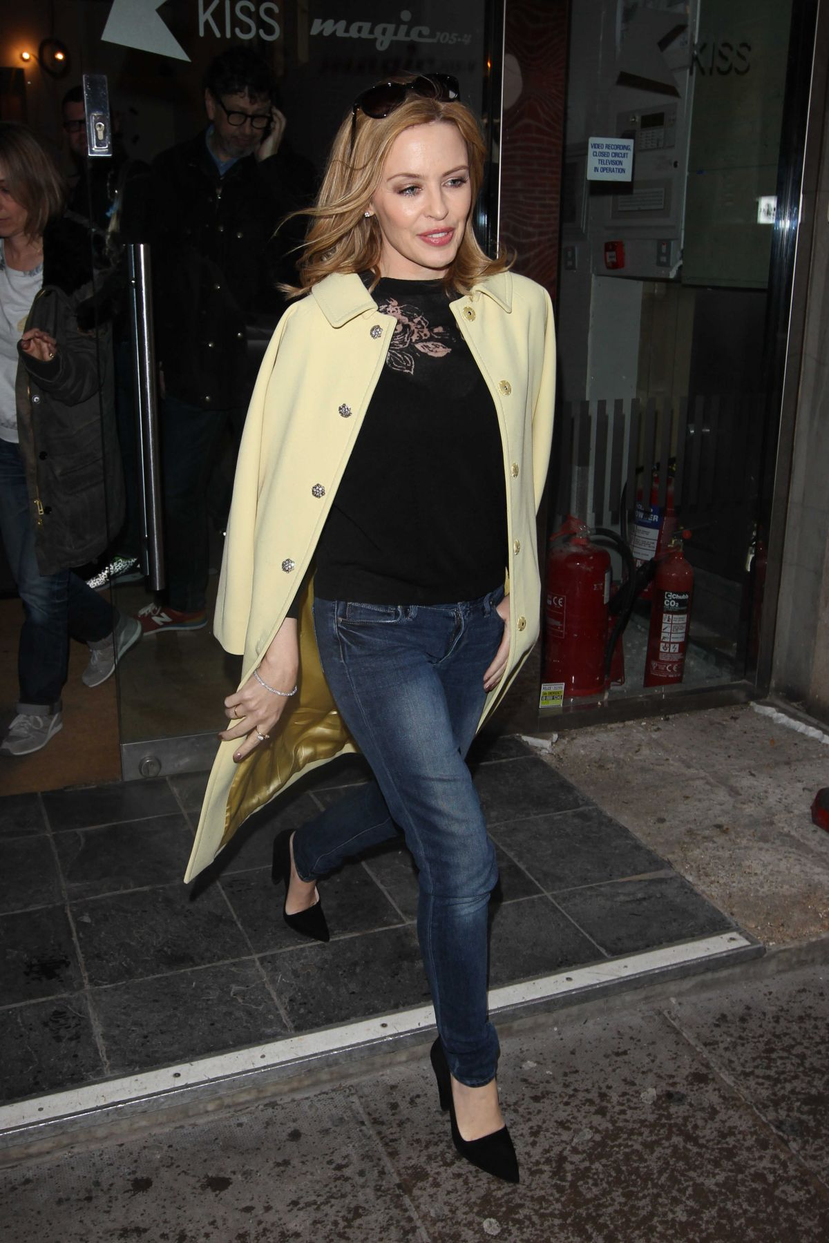 Kylie Minogue Out And About In London Hawtcelebs