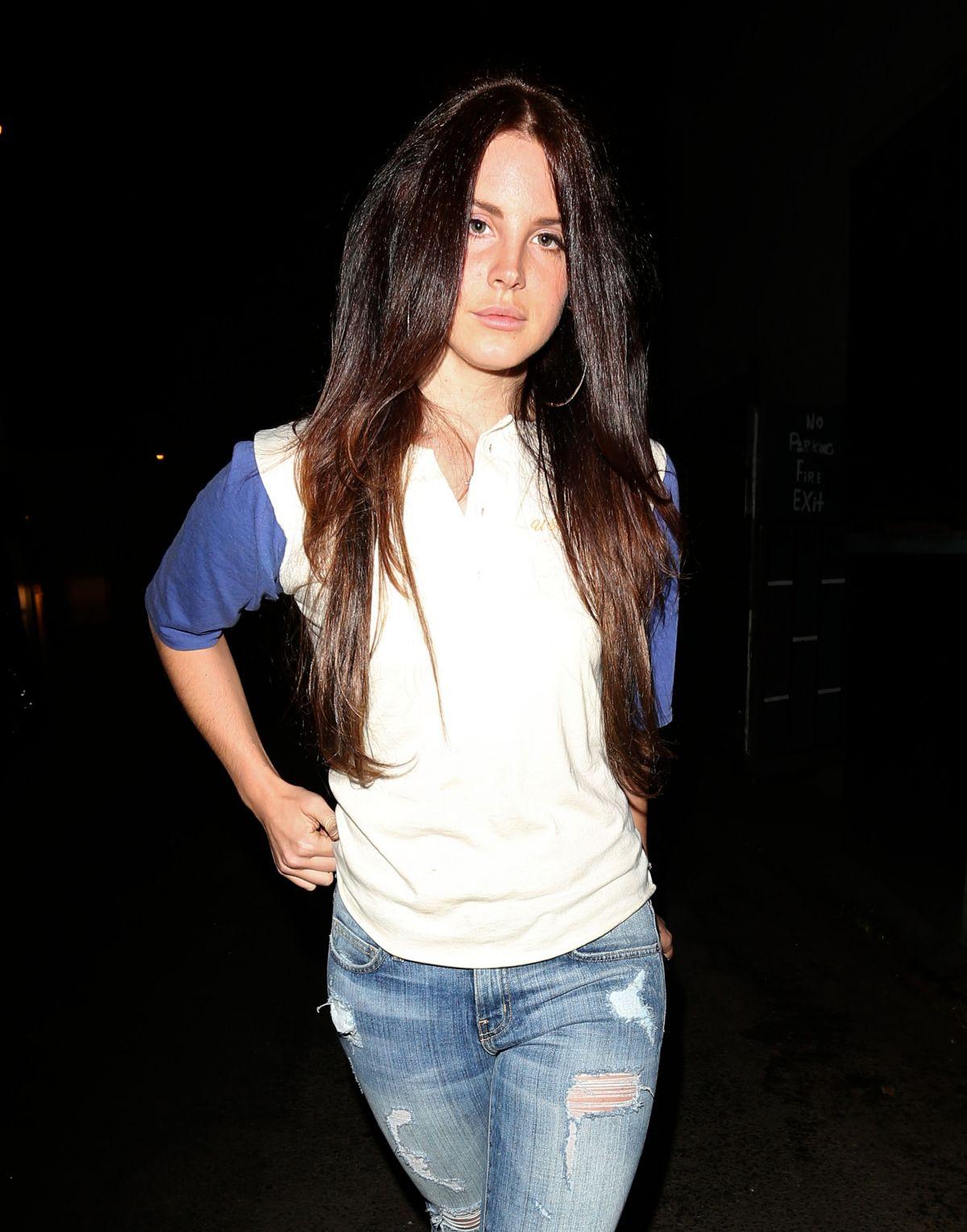 Lana Del Rey By Chris Nicholls For Fashion Magazine: LANA DEL REY Leaves Troubadour Club In Los Angeles
