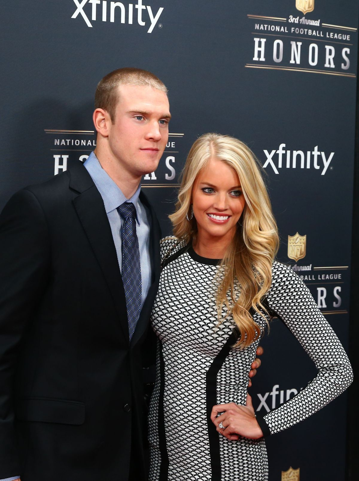 LAUREN TANNEHIL at 3rd Annual NFL Honors in New York