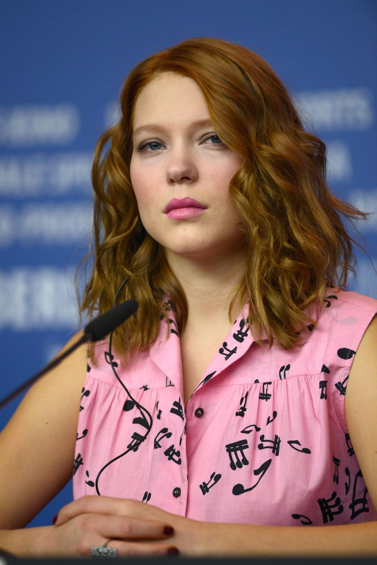 Lea Seydoux In Elle Magazine France February 2014 Issue: LEA SEYDOUX At Beauty And The Beast Press Conference At