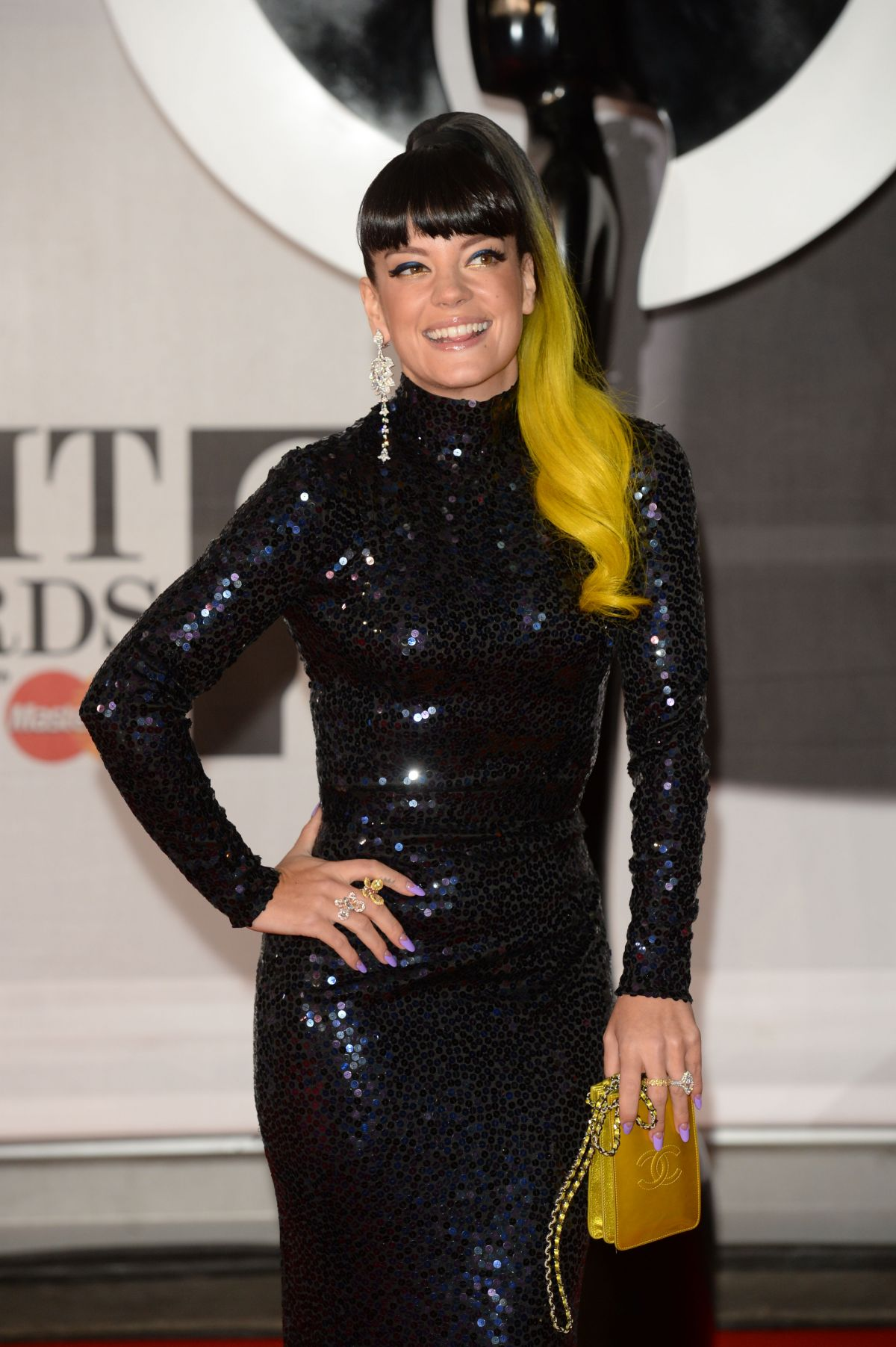 Lily Allen At 2014 Brit Awards In London Hawtcelebs