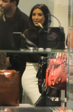 LIM LARDASHIAN Out Shopping at Barneys New York in New York