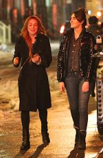 LINDSAY and ALI LOHAN Out and About in the East Village