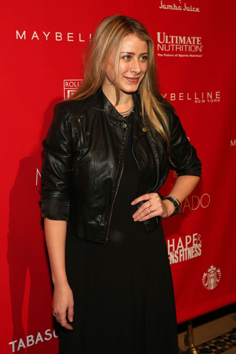 LO BOSWORTH at GQ 2014 Super Bowl Party in New York