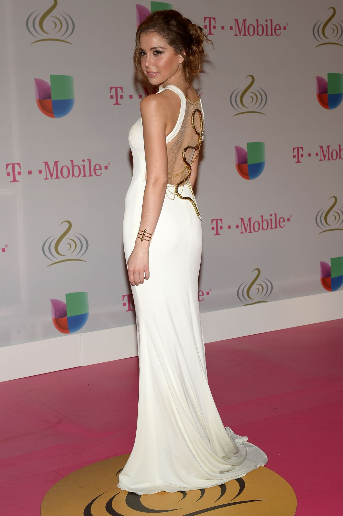 MAKENZIE VEGA at Premio Lo Nuestro Awards in Miami