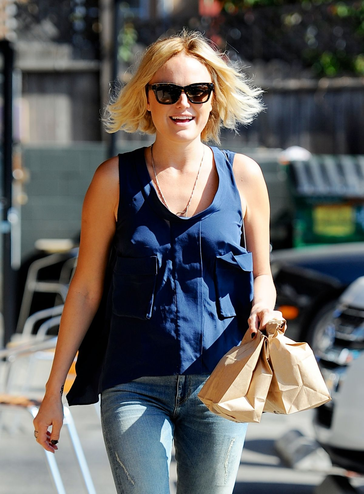 MALINAKERMAN Out for Lunch in Los Angeles