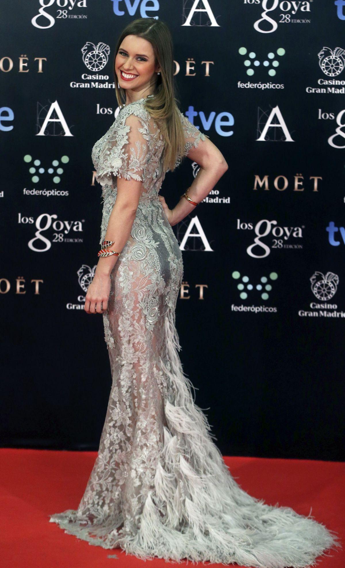 MANUELA VELLES at 2014 Goya Film Awards in Madrid