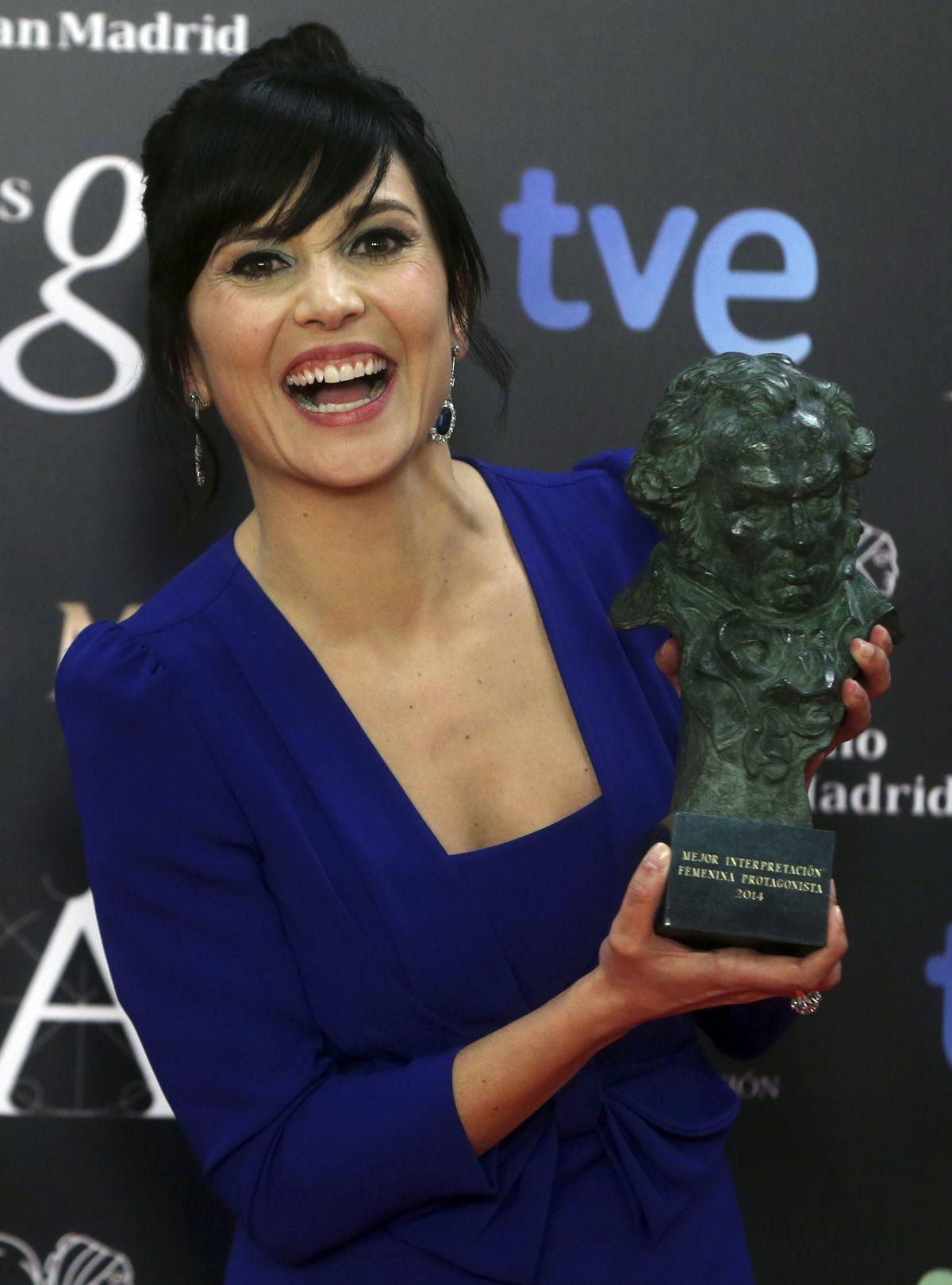 MARIAN ALVAREZ at 2014 Goya Film Awards in Los Angeles