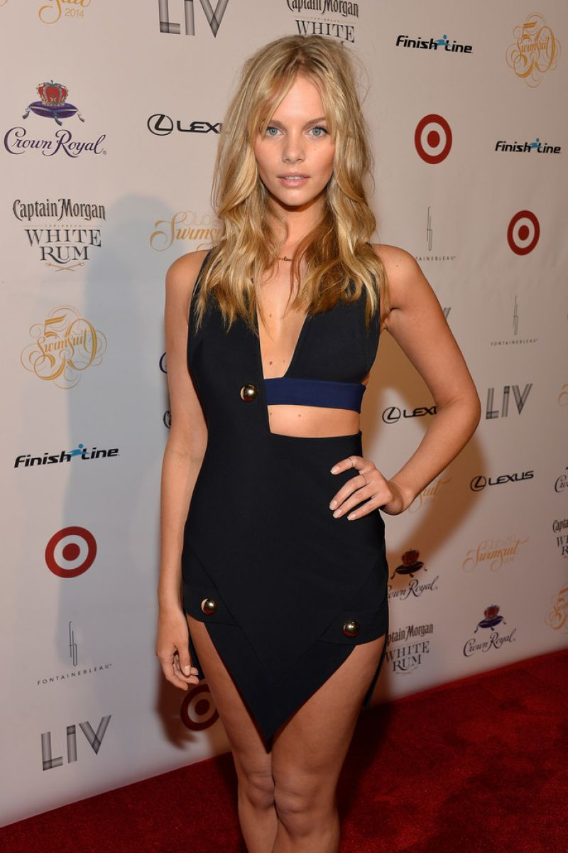 MARLOES HORST at Club SI Swimsuit at Liv Nightclub Fontainebleau in Miami