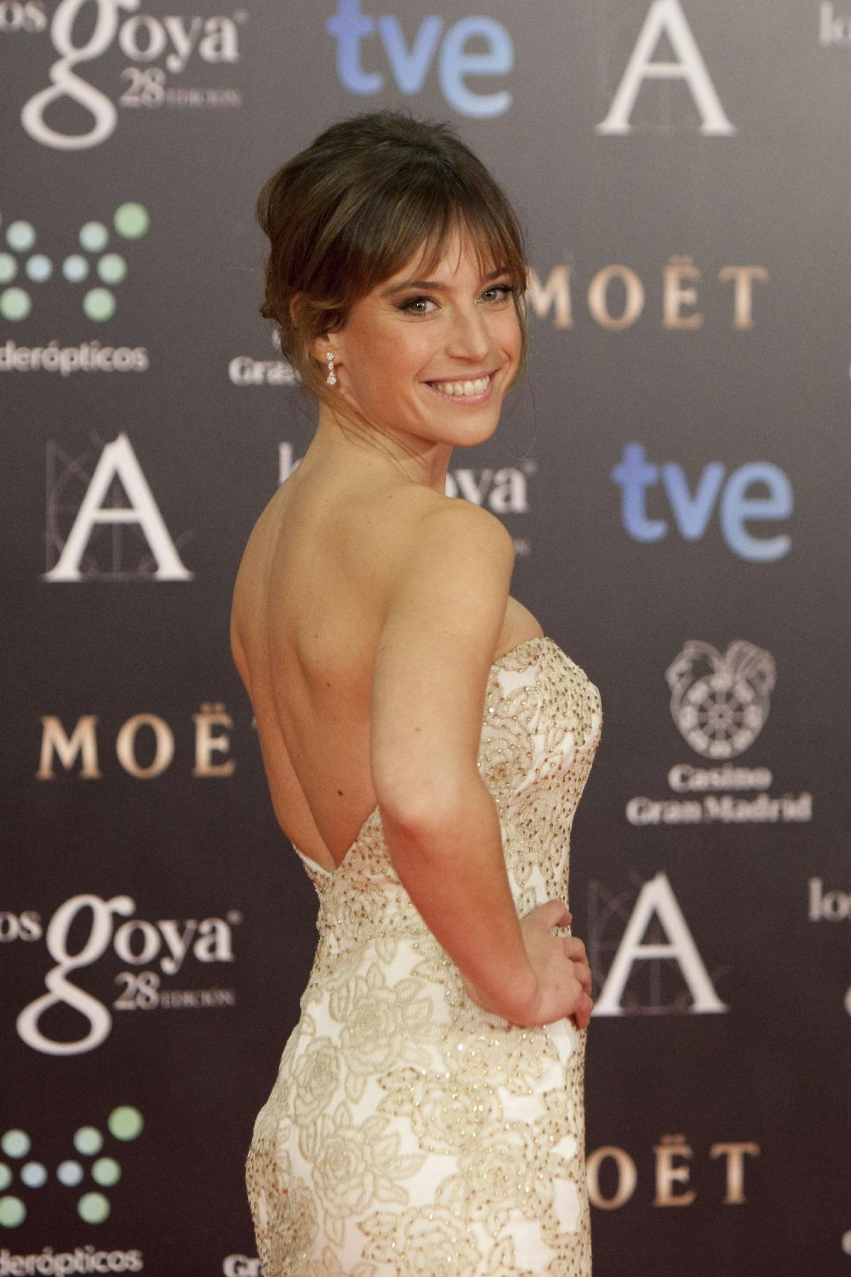 MARTA ETURA at 2014 Goya Film Awards in Madrid