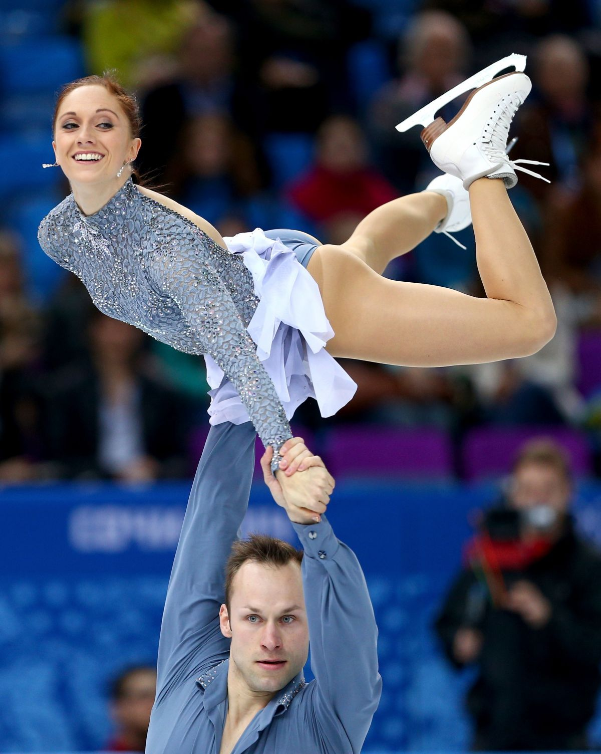 MAYLIN WENDE and Daniel Wende at 2014 Winter Olympics in Sochi