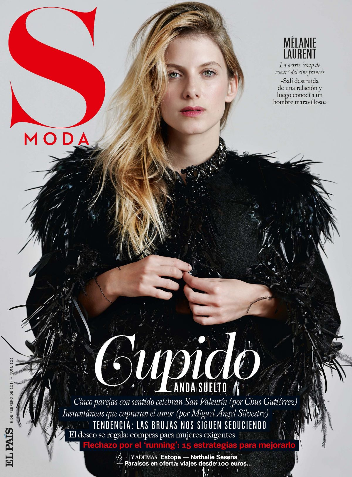 MELANIE LAURENT- Eric Guillemain Photoshoot for S Moda Magazine, February 2014 Issue