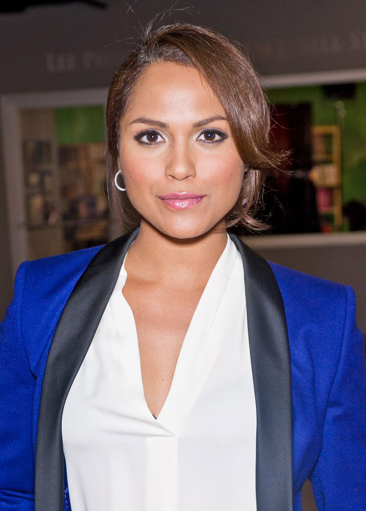 MONICA RAYMUND at Chicago P.D Portrait Session in New York
