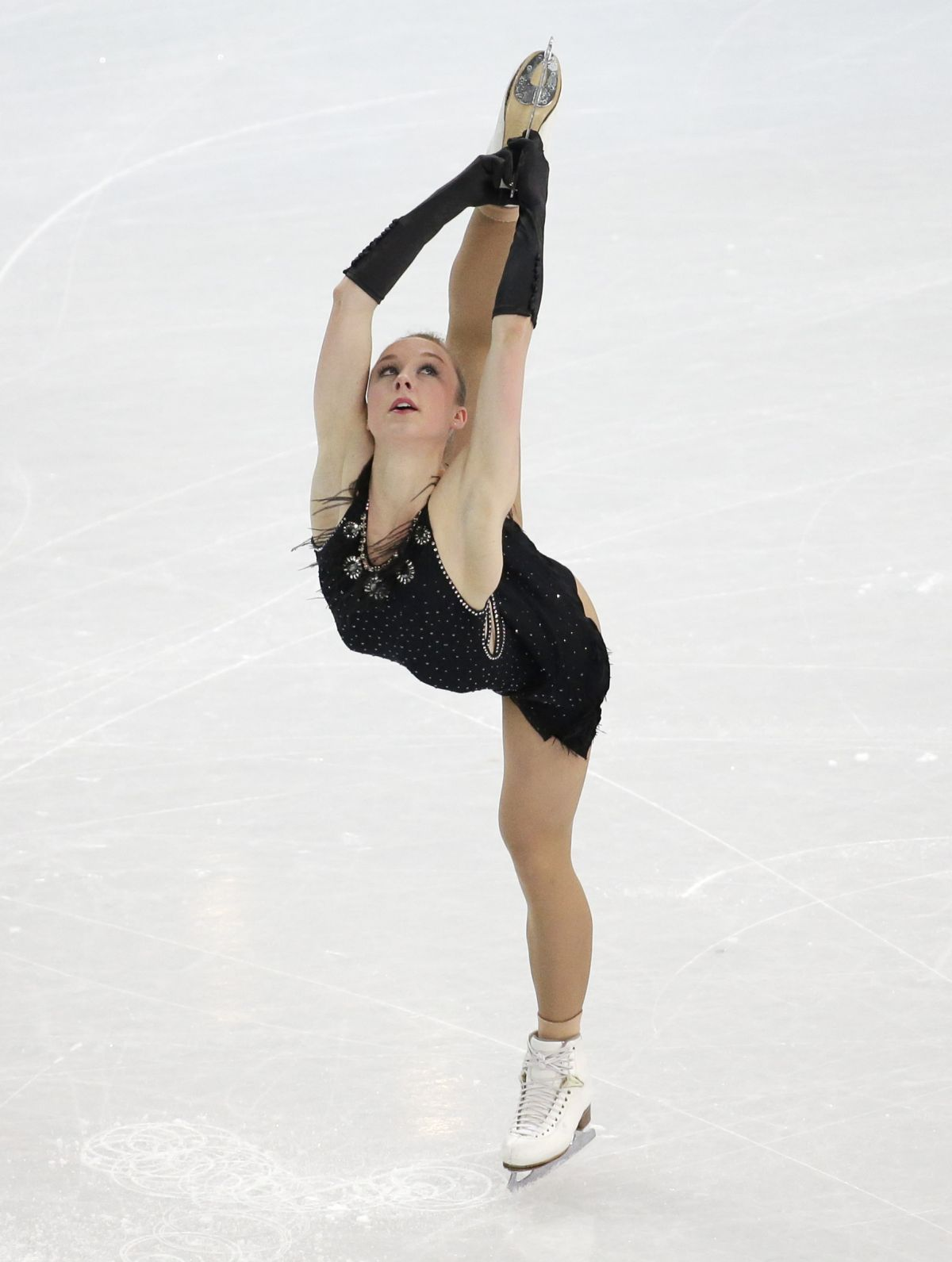 NATHALIE WEINZIERL at 2014 Winter Olympics in Sochi