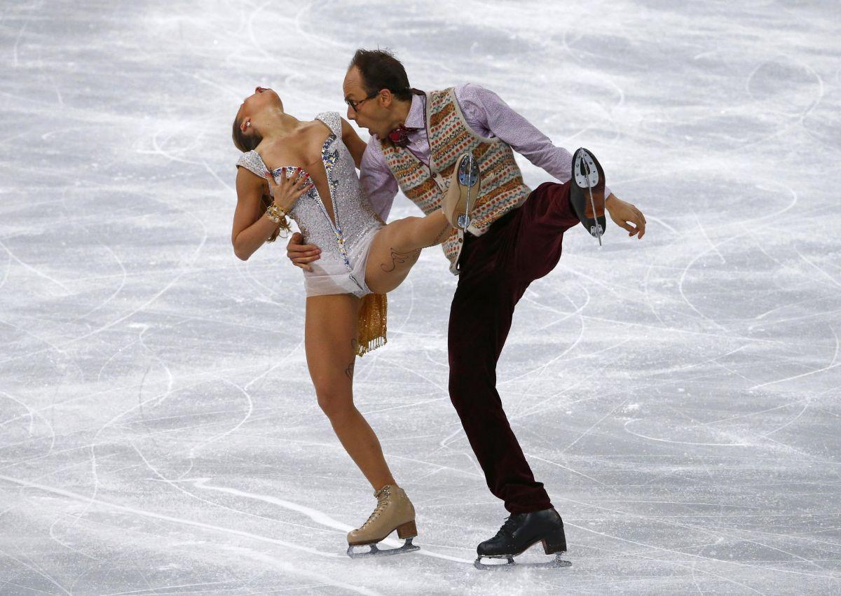 NELLI ZHIGANSHINA and Alexander Gazsi Performs at 2014 Winter Olympics