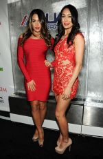 NIKKI and BRIE BELLA at Maxim Big Game Weekend in New York